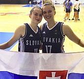 Vanda Kozáková a Dominika Drobná
