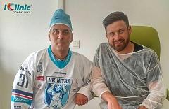 Operácia očí Michal Valent iClinic
