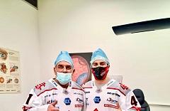 Maxime Fortier - útočník hokejového tímu iClinic Bratislava Capitals