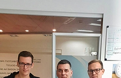 futbalisti rakúskeho prvoligového futbalového klubu FC Admira Wacker Mödling Daniel Toth a Stephan Zwierschitz