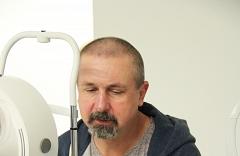 Zdeno Cíger, kompletné očné vyšetrenie