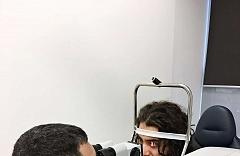 Laserová operácia očí Relex Smile - kanadský hokejista Mathew Maio 3