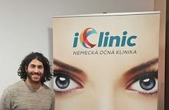 Laserová operácia očí Relex Smile - kanadský hokejista Mathew Maio 10