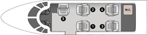 Zvoľte si želané miesto, kliknutím na príslušné sedadlo na obrázku lietadla.
