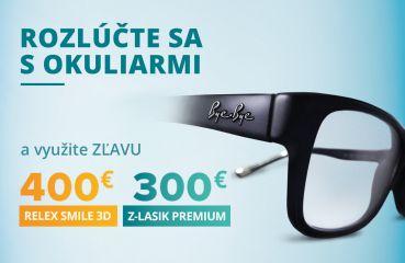Jarná akcia na Relex Smile 3D a Z-Lasik Premium
