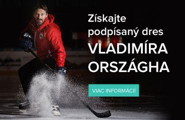 Získajte podpísaný dres Vladimíra Országha