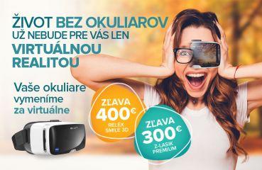 Jeseň bez okuliarov! Jesenná akcia na Relex Smile 3D a Z-Lasik Premium
