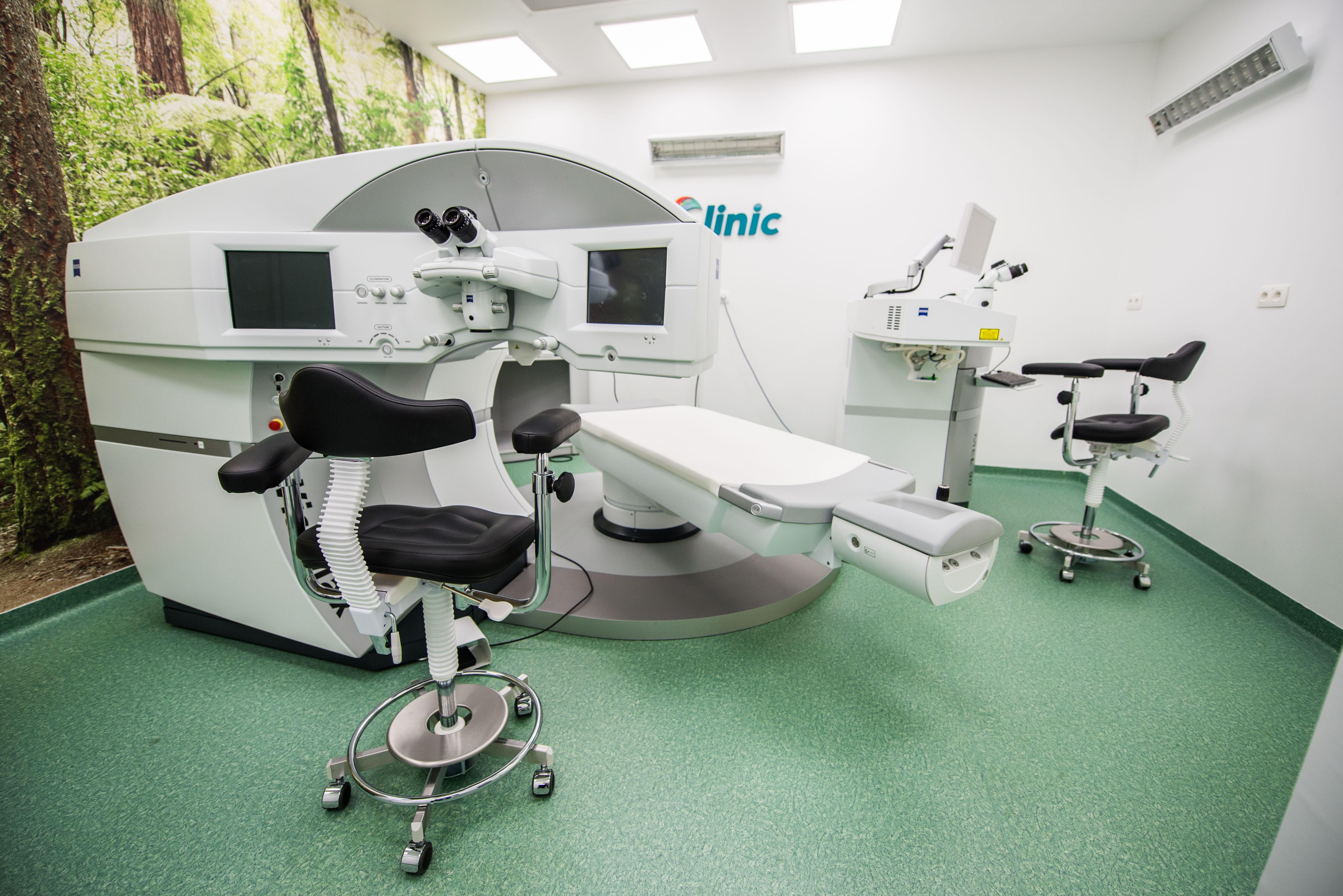 Laserová operace krátkozrakosti metodou Relex Smile