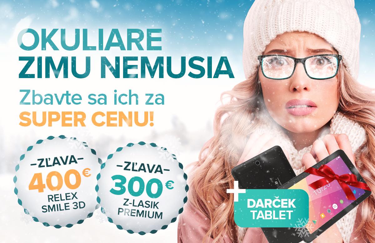 Zimná akcia na Relex Smile 3D a Z-Lasik Premium  3eb5c0bca0f